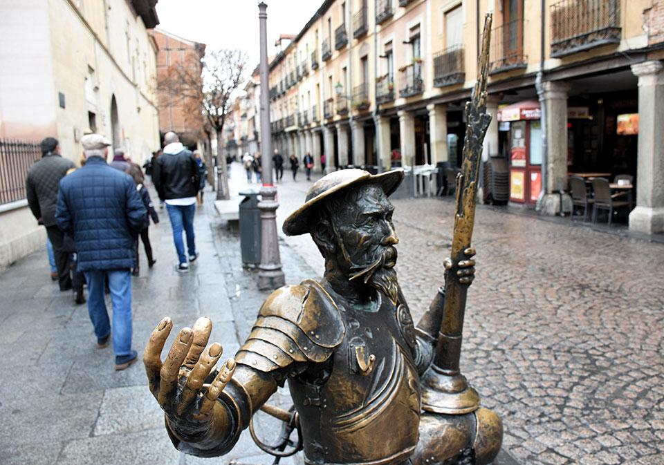 Don Quijote ya espera las venturas de 2018