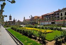 Primavera en la Plaza de Cervantes