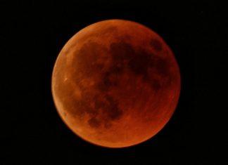 Luna de Sangre desde Alcalá