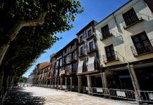 Avanzan las obras en la Plaza de Cervantes