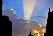 Resplandor en la Procesión de Retorno de la Virgen del Val