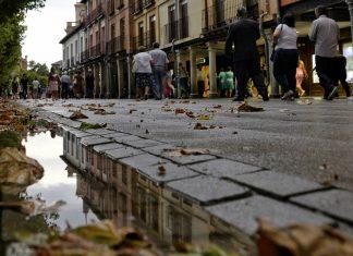 Veroño en la Plaza de Cervantes