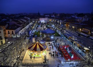 Navidad 2018 en la Plaza de Cervantes