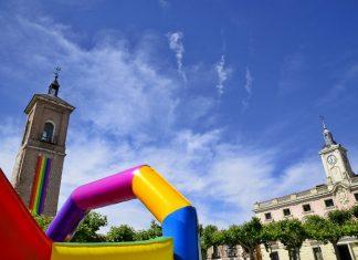 Orgullo arcoiris en Alcalá de Henares