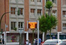 La ola de calor en los nuevos termómetros municipales