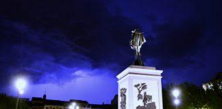 Aparatosa tormenta en Alcalá de Henares