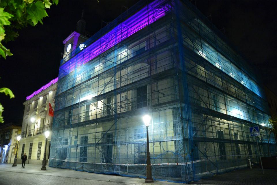 El ayuntamiento en obras