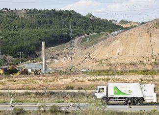 El vertedero del este en Alcalá de Henares