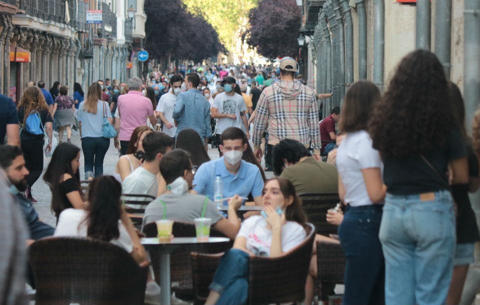 Alcalá de Henares. Fase I de la desescalada