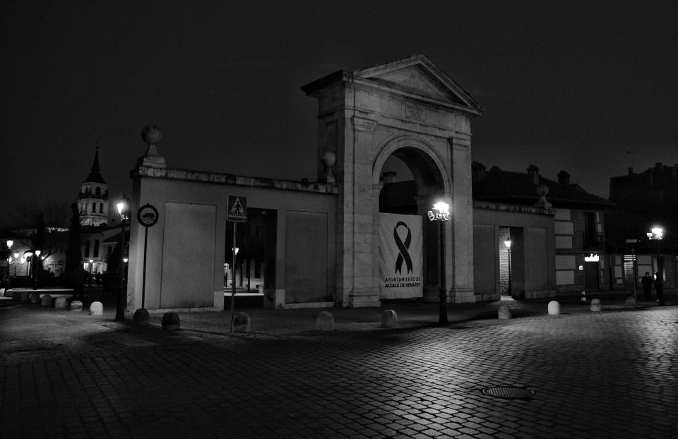 Nocturna de la Puerta de Madrid en marzo